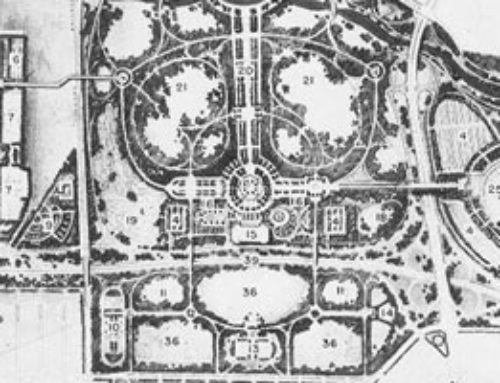 1936 Development Map of Flushing Meadow Park