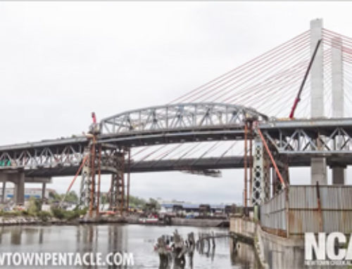Dismantling and Lowering the Kosciuszcko Bridge Truss