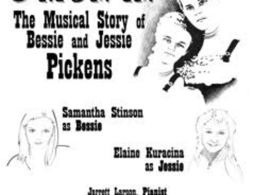 "Potsdam – Meet Bessie and Jessie Pickens in an original Musical Revue ""C'MON IN"""