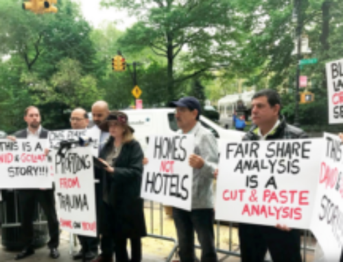 LIC residents stage back-to-back protests against third homeless shelter in Blissville area