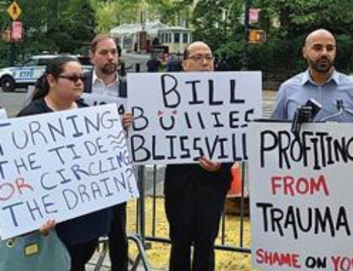 Blissville residents bring wakeup call